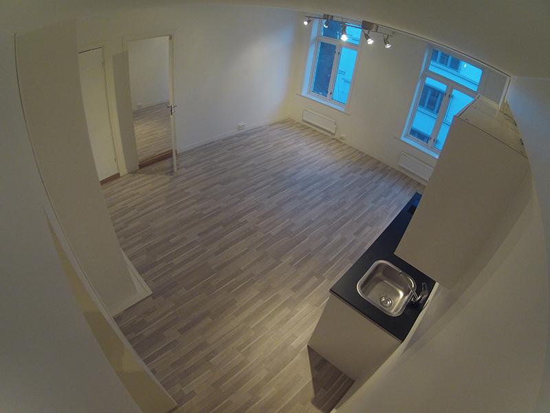 Reparasjon av leiligheter i nye bygg